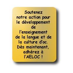 Adhésion en ligne à l'AELOc, membre bienfaiteur