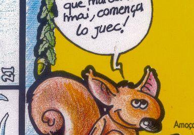 Lo juòc de l'esquiròu
